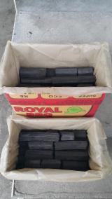 Pellets, Bricketts und Kohle, Kohlebriketts, Indonesian Hardwood Sawdust