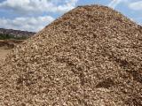 Brandhout - Resthout Houtspaanders Van Gebruikt Hout - Eik Houtspaanders Van Gebruikt Hout