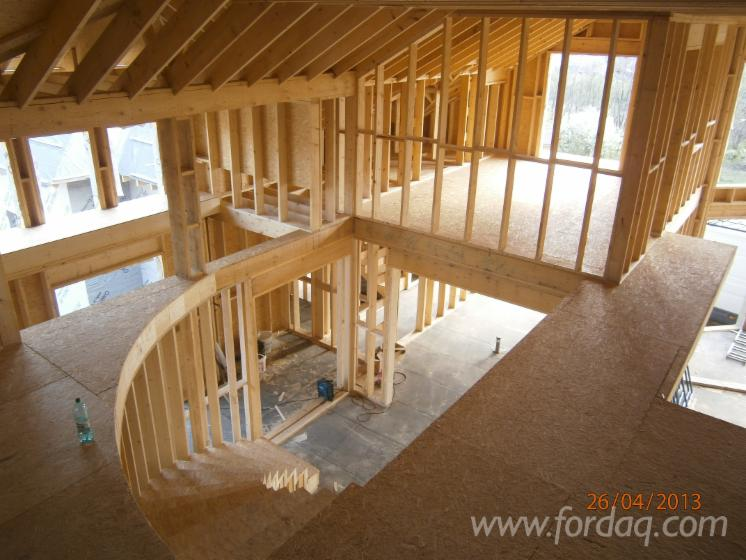 Wood Houses - Precut Timber Framing For Sale