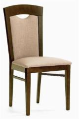 Contract Furniture For Sale - BEECH CHAIR MOD 18 WITH UPHOLSTERED SEAT AND BACK