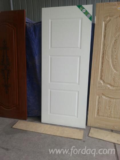 Plywood-door