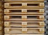 Wood Pallets - Recycled - Used In Good State  ISPM 15 Euro Pallet - Epal