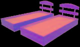 Bedroom Furniture - Contemporary, Fir (Abies alba, pectinata), Beds, -- pieces Spot - 1 time