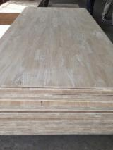 Buy Or Sell Wood Finger-Joined Elements - 18mm x 1220 x 2440mm FINGER JOINT LAMINATED BOARD/ BUTT JOINT PANEL/ SOLID WOOD PANEL/ EDGE GLUE PANEL