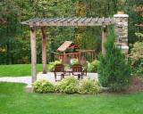 Garden Products Spruce Picea Abies - Whitewood - Spruce (Picea abies) - Whitewood, Pergola - Arbour