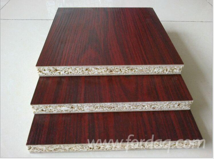 Particle-board-with-melamine-paper