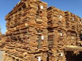 Hardwood  Unedged Timber - Flitches - Boules - Oak saw timber from Hungary