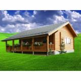 Buy Or Sell  Square Milled Log House - Square Milled Log House, Spruce (Picea abies) - Whitewood