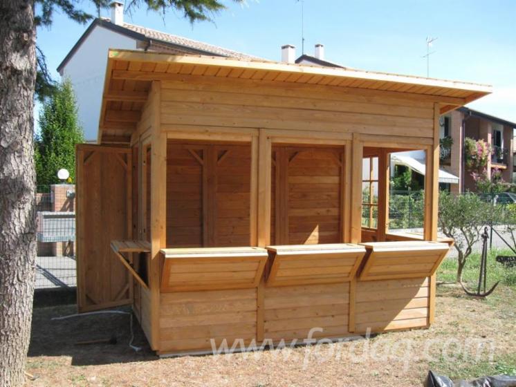 Tanne verkaufsstand gartenlaube for Kioscos de madera baratos
