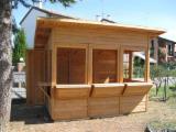 Buy Or Sell Wood Kiosk - Gazebo - Fir (Abies alba, pectinata), Kiosk - Gazebo