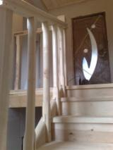 Doors, Windows, Stairs - Softwoods, Fir (Abies alba, pectinata), Stairs