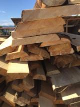 Softwood  Unedged Timber - Flitches - Boules For Sale - Fir/Spruce Boules 100 mm Romania