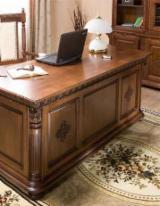 Mobilier De Birou Lemn - Mobila Birou/ Cabinet de lucru din Lemn Masiv -
