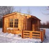 Spruce  - Whitewood Garden Log Cabin - Shed - Wooden Houses Spruce (Picea Abies) - Whitewood from Romania