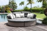 Garden Furniture Art & Crafts Mission - Rattan/Wicker convertible sofa and bed design