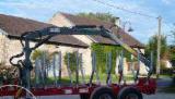 Nova Oprema Za Iskorištavanje Šuma - Ulična Vozila, Prikolica S Pokretnim Podom, CMS