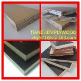 Black/brown/yellow film faced plywood