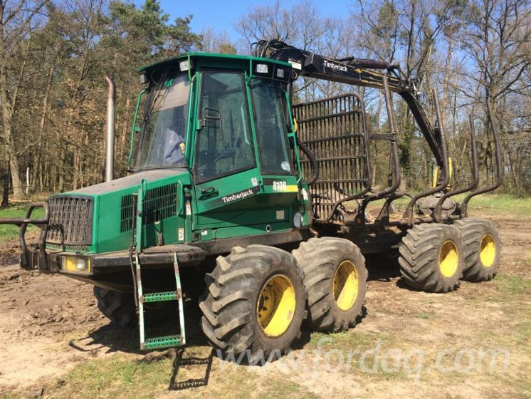 Used-1997-Timberjack-810B-Forwarder-in