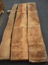 Hardwood  Unedged Timber - Flitches - Boules Germany - Beech lumber, unedged, KD