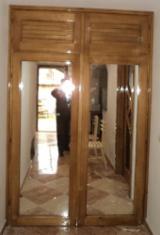 Mobilă Dormitor Molid - dulap din lemn masiv