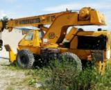 Used Forest Harvesting Equipment Romania - Street Vehicles, macara, Telemac