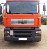 Used Forest Harvesting Equipment Romania - Street Vehicles, Short Log Truck, MAN