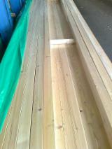 Mouldings, Profiled Timber Offers from Germany - Siberian Larch, Glattkantprofil