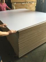 Engineered Panels China - White melamine faced MDF/Chipboard