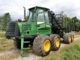 Forest & Harvesting Equipment - Used 2008 John Deere 1110D Eco III Forwarder in Germany