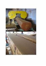 Hardwood  Unedged Timber - Flitches - Boules - Half-Edged Boards, All broad leaved specie
