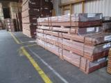 Tropical Wood  Sawn Timber - Lumber - Planed Timber Thermo Treated - Keruing wood 25 x 145 mm KD