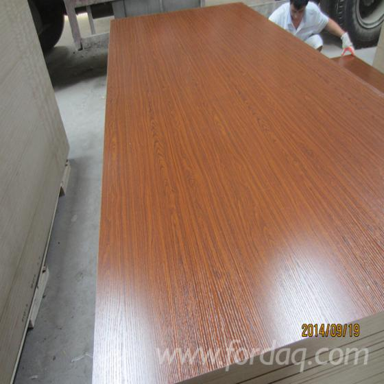 Walnut-melamine-MDF-board---colored-MDF