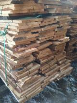 Hardwood  Unedged Timber - Flitches - Boules Romania - Loose, Oak (European)