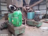 GAMA Woodworking Machinery - Used GAMA 2005 Briquetting Press For Sale Poland