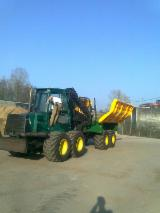 Used 2004 Timberjack 1110D+ press collector 48 Forwarder in France