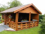 Maisons Bois Pologne - Maison en madriers bois massif prefabrique