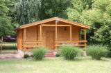Wood Houses - Precut Timber Framing Pine Pinus Sylvestris - Redwood For Sale - Holiday Cabin, Pine (Pinus sylvestris) - Redwood, Romania