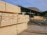 Sawn And Structural Timber Spruce Picea Abies - 25; 50; 60; 100; 120; 150 mm Kiln Dry (KD) Spruce Planks (boards) from Romania, Hunedoara