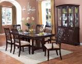 Dining Room Furniture Traditional For Sale - Rubber wood dinning sets/dinning room sets
