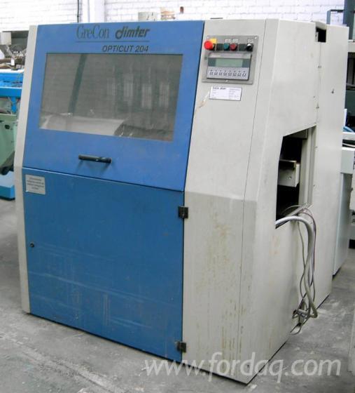 Used-1998-DIMTER-OPTICUT-204-R-Optimization-cross-cut-saw-for-sale-in