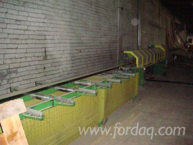 Used-1997-GRECON-CLASSIC-1004-Optimization-cross-cut-saw-for-sale-in