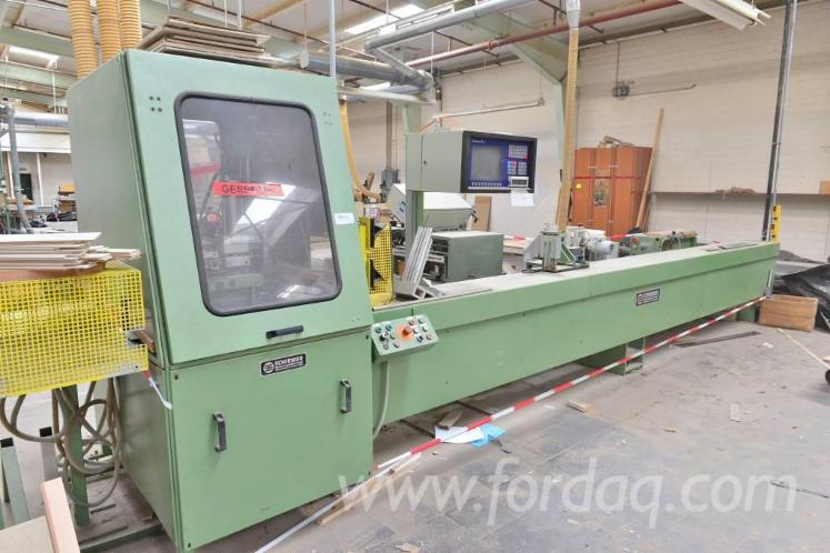 Used-1992-SCHIRMER-KPS--PC-Optimization-cross-cut-saw-for-sale-in