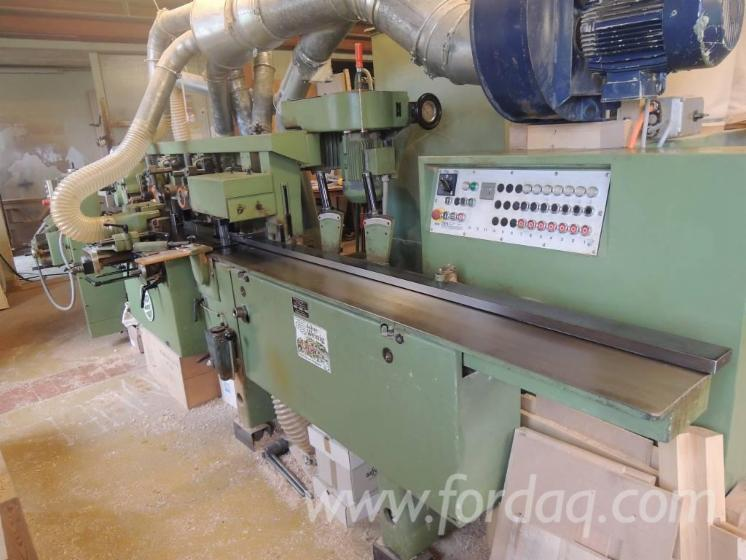Used-1981-WEINIG-UNIMAT-17A-Moulder-for-sale-in