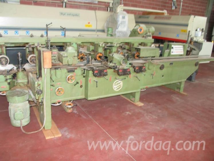 Used-1971-WEINIG-PFA-17N-Moulder-for-sale-in