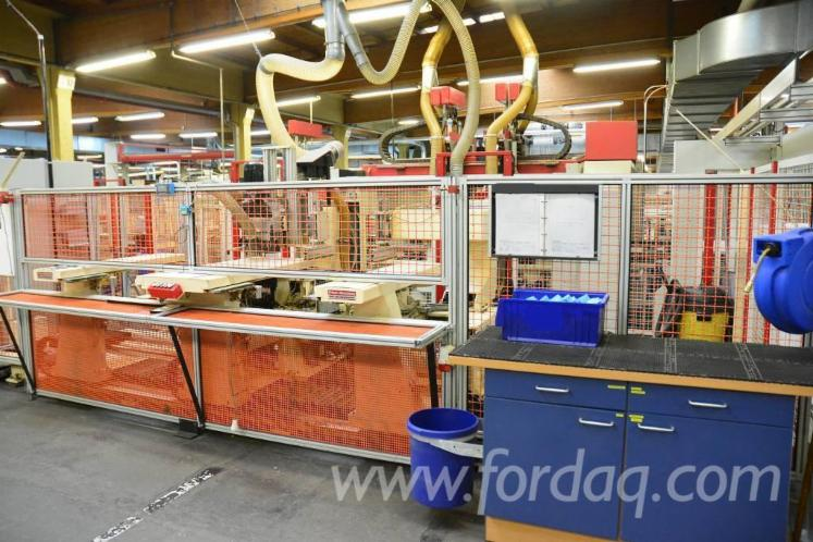 Used-1994-PRIESS---HORSTMANN-BAT--226-CNC-Hinge-hole-boring-machine-for-sale-in