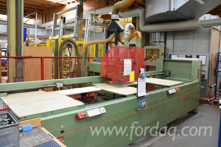 Used-1991-PRIESS---HORSTMANN-BAT-III-CNC-Hinge-hole-boring-machine-for-sale-in