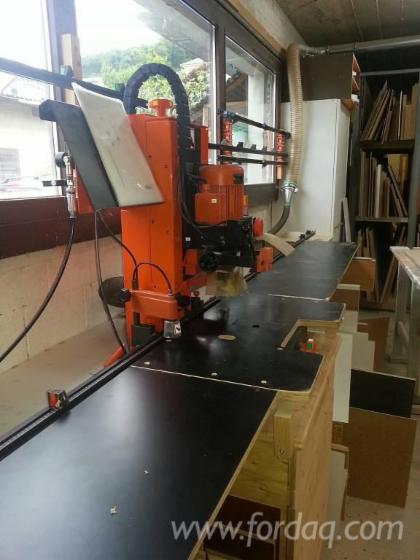 Used 2000 Blum Pro Center 2000 Hinge Hole Boring Machine