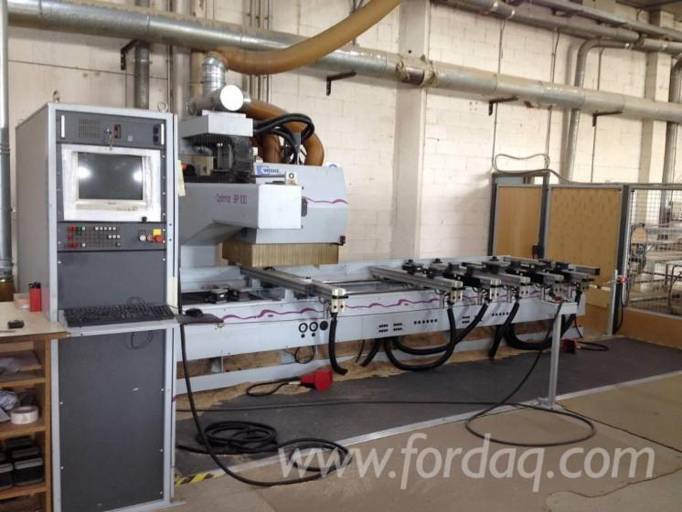 Used-2001-WEEKE-BP-100-CNC-machining-centre-for-sale-in