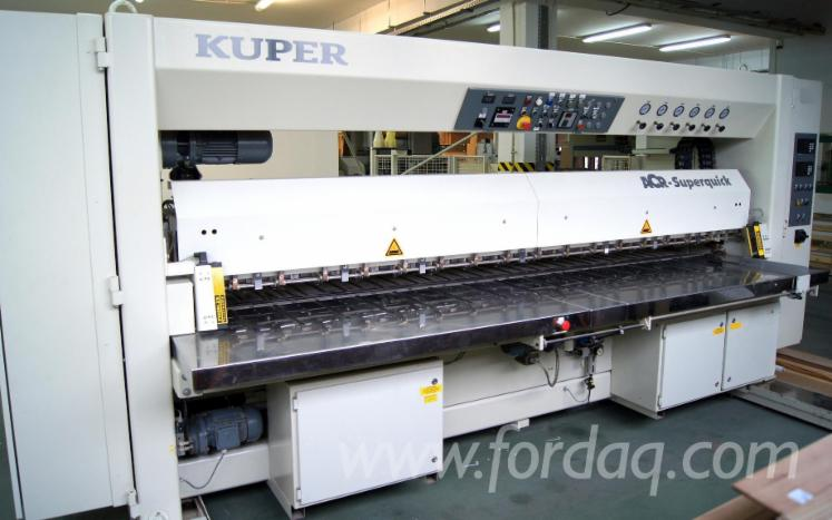 Used-2003-KUPER-ACR-SUPERQUICK-3100--KLM-EMZ-Veneer-splicing-machine-for-sale-in