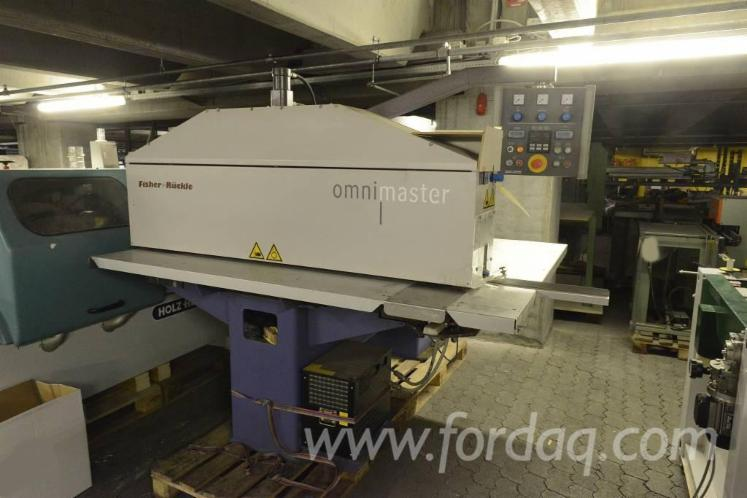 Used-2002-FISHER-R%C3%9CCKLE---OMNIMASTER-Veneer-splicing-machine-for-sale-in
